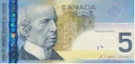 Imagem da moeda Dólar Canadense