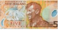 Imagem da moeda Dólar Neozelandês