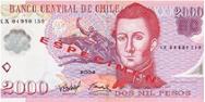 Imagem da moeda Peso Chileno