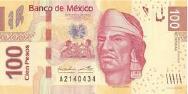 Imagem da moeda Peso mexicano