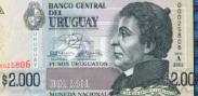 Imagem da moeda Peso Uruguaio